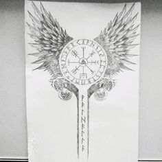 Possible spinal tattoo