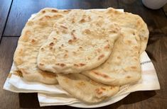 food and drink Navajo Flatbread: Makes 6 2 cups all purpose flour 1 cups of lukewarm water 1 Tablespoon baking powder 1 teaspoon salt 2 teaspoons oil (canola oil, vegetable oil, or s Good Food, Yummy Food, Easy Homemade Recipes, Chapati, Easy Bread, Flat Bread Recipe Easy, Snacks, How To Make Bread, Bread Baking