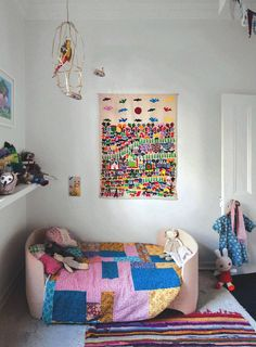 Kids room - Wall hanging - Via Megan Morton