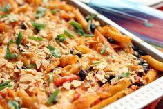 Vegetarian Enchilada Casserole http://www.sunnysideupsd.com/2012/06/vegetarian-enchilada-casserole/