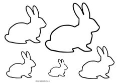 Easter Templates, Montessori Materials, Wooden Beads, Felt Crafts, Decoupage, Stencils, Crafts For Kids, Bunny, Holiday Decor