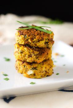 Pumpkin Quinoa Patties - Who says pumpkin is just for fall?  #PumpkinCan (Sponsored Post)
