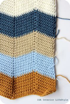 crochet ripple tutorial