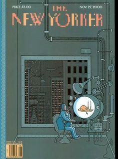 New Yorker. Illustration: Chris Ware