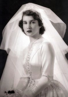 On January 2, 1943, at Christ Episcopal Church, Grosse Pointe, Michigan, Josephine Clay Ford, the daughter of Mrs. Edsel Ford of Grosse Pointe Shores, Michigan, and the late Mr. Ford, was married to Walter Buhl Ford II, scion of a socially prominent Grosse Pointe family. The Reverend Francis Creamer performed the ceremony. Photo by Jay Te Winburn.