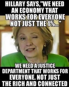 hillary clinton should be held accountable for her crimes and LIES