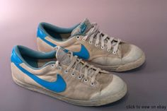Vintage Tennis Max Canvas. I wish Nike would remake these classics. Athletic shoes today are just too complicated.