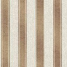 Simmons Copper Regal Stripe - Wallpaper