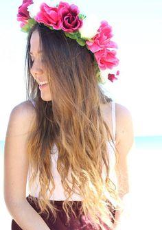 Bloemenkrans #Hair #Accessory
