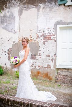 Southern Weddings - Downtown Charleston Bridals via @dcubbagephoto