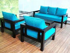 Teak Wooden Sofa Set Design | Teak Sofa Set Models