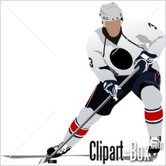 CLIPART HOCKEY PLAYER I chose this picture because I want to play hockey on a team.