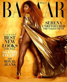 Venus Y Serena Williams, Serena Williams Tennis, Serena Williams Quotes, Tennis Stars, Divas, Glamour, Before Us, Harpers Bazaar, Beautiful Black Women