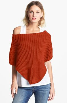 Echo Ribbed Shrug | Nordstrom only $48 - LOVE the color!!