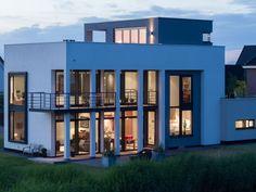 Moderne architectuur || Rotterdam Nesselande || Knaap Maatwoningen Rotterdam, Villa, Van, Inspireren, Mansions, House Styles, Home Decor, Photos, Houses
