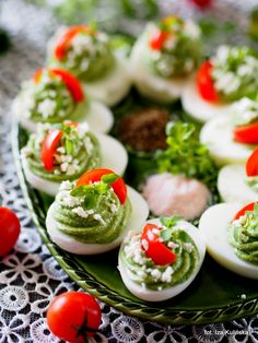 Appetizer Recipes, Appetizers, Easter Dishes, Caprese Salad, Food Dishes, Sushi, Paleo, Brunch, Food And Drink