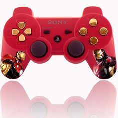 Custom New Playstation 3 Controller Ironman by GameConsole911Modz, $100.00
