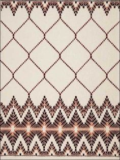 If you have ever used a sewing needle, you can make a wonderful monk's cloth afghan. Swedish Weaving Patterns, Swedish Embroidery, Monks Cloth, Chicken Scratch, Bargello, Crochet Squares, Yarn Needle, Diamond Pattern, Needlepoint