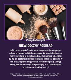 IDEALNE STOPIENIE MAKIJAŻU ZE SKÓRĄ - PRAKTYCZNA SZTUCZKA DLA KAŻDEJ KOBIETY! Beauty Care, Diy Beauty, Beauty Makeup, Beauty Hacks, Natural Cosmetics, Makeup Cosmetics, Kiss Makeup, Hair Makeup, Diy Spa