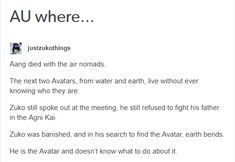 This is even cooler when considered that he has avatar blood in him mother's bloodline. I love aang to death. BUT THIS IDEA IS AMAZING<= you mena you HATE that Aang dead? Avatar Airbender, Avatar Aang, Avatar Funny, Team Avatar, Atla Memes, Zuko, The Last Avatar, Sneak Attack, Avatar Series
