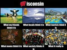 Funny blog about Wisconsin! All so true!!