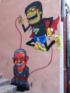 Street Art By Nhobi - Marseille (France)