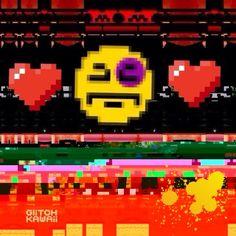NoLove by GlitchKawaii #art #netart #pop #pixel #pop