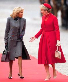 Melania Trump, Brigitte Macron, Denmark Fashion, Dior, Royal Clothing, Matilda, Queen, Shirt Dress, Princess