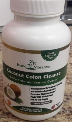 Coconut Colon Cleanse All Natural Digestive Cleanser #review