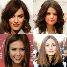 """Long bobs or """"lobs"""" have been growing in popularity with an army of celebs sporting them. There are a variety of styles from sexy tousle to a modern blunt"""