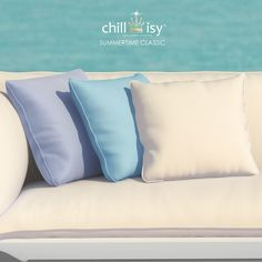 SUMMERTIME CLASSIC COLLECTION by chillisy | white outdoor & indoor cushions with piping. #outdoor #cushion #white #madeingermany #letthemout #weatherproof #elegant #chillisy #indooroutdoor #indooroutdoorliving #weisse #kissen #polster #allsizes Outdoor Cushions, Outdoor Pillow, Indoor Outdoor Living, Classic Collection, Classic White, Summertime, Bed Pillows, Balcony Garden, Instagram