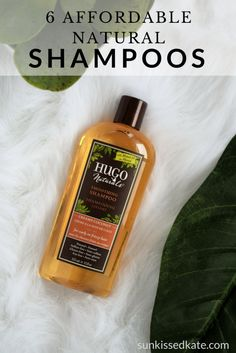 6 affordable natural shampoo brands