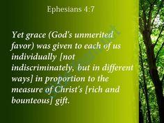 ephesians 4 7 grace has been given powerpoint church sermon Slide04  http://www.slideteam.net/