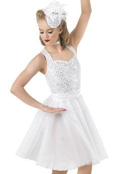 Weissman™   Sequin Satin Organza Halter Dress