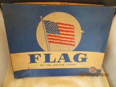 Great OLD Antique 1908 46 STAR US FLAG UNITED STATES OF AMERICA FORTY SIX STARS
