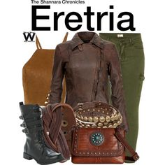 Inspired by Ivana Baquero as Eretria on The Shannara Chronicles