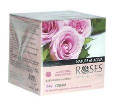 Crema Idratante Giorno con Acqua di Rose naturale dalla Bulgaria