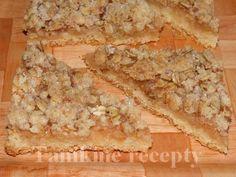Jablkový s vločkovou posýpkou Krispie Treats, Rice Krispies, Bread, Cake, Food, Brot, Kuchen, Essen, Baking
