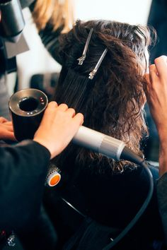 Dyson's Supersonic Hair Dryer Steals the Show Backstage At Narciso Rodriguez