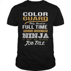 COLOR GUARD - NINJA GOLD - #mens dress shirts #polo sweatshirt. I WANT THIS => https://www.sunfrog.com/LifeStyle/COLOR-GUARD--NINJA-GOLD-Black-Guys.html?id=60505