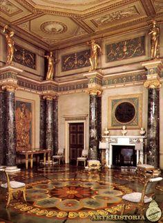 Robert Adam - Syon House  | Syon House (Londres). Antecámara