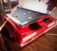 Best Car Pool Tables Images On Pinterest Pool Table Corvette - Car pool table