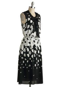 Matrix Code of Conduct Dress   Mod Retro Vintage Dresses   ModCloth.com