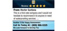 This is a first-rate company and I would not hesitate to recommend it to anyone in need of...