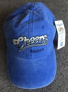 Unisex Cheers Boston Stressed Blue Dad Hat NEW NWT  fashion  clothing   shoes  accessories  mensaccessories  hats 7cb445dc5be3