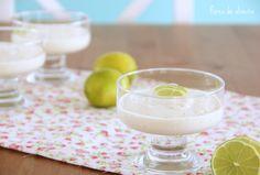 Flores de Oliveira: Mousse lima limão, por favor! • Citrus Mousse, please!