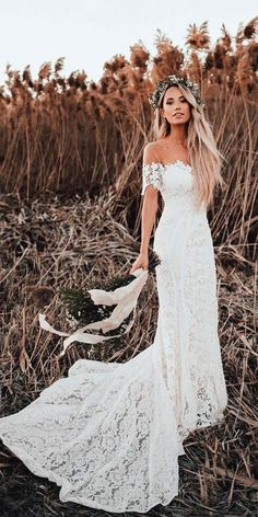 White wedding dress. All brides dream about having the perfect wedding, however for this they need the best bridal gown, with the bridesmaid's outfits complimenting the brides-to-be dress. The following are a few suggestions on wedding dresses. #weddingdress