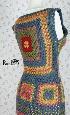 Crochet Coaster Pattern, Granny Square Crochet Pattern, Crochet Stitches, Crochet Hooks, Crochet Baby, Knit Crochet, Crochet Patterns, Unique Crochet, Beautiful Crochet