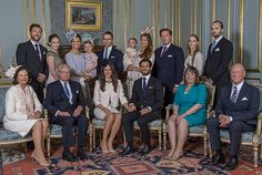 Prince Carl Philip of Sweden and his fiancee Sofia Hellqvist held a private reception after their banns of marriage for invited guests in the presence of their parents and siblings.