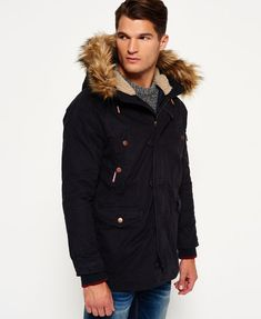 Superdry Rookie Heavy Weather Parka Jacket to keep those winter chills at bay